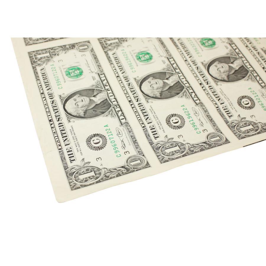 【本物 レア】 アメリカ1ドル紙幣未裁断32面シート(米ドル) stamp-coin-ebisu 03