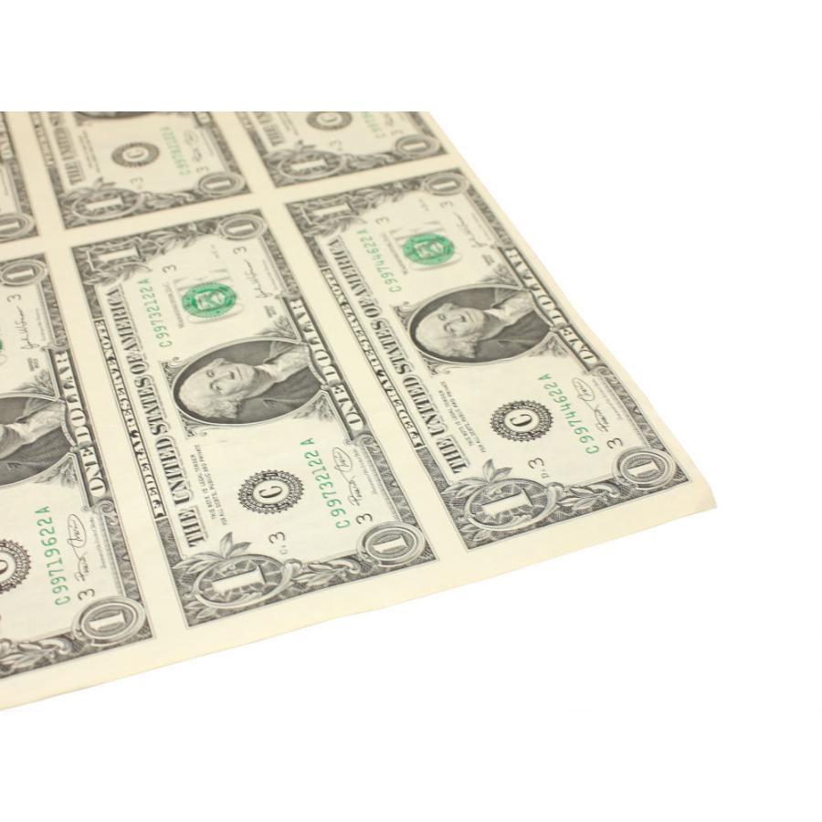 【本物 レア】 アメリカ1ドル紙幣未裁断32面シート(米ドル) stamp-coin-ebisu 04