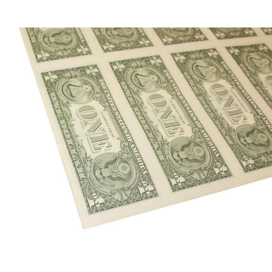 【本物 レア】 アメリカ1ドル紙幣未裁断32面シート(米ドル) stamp-coin-ebisu 08