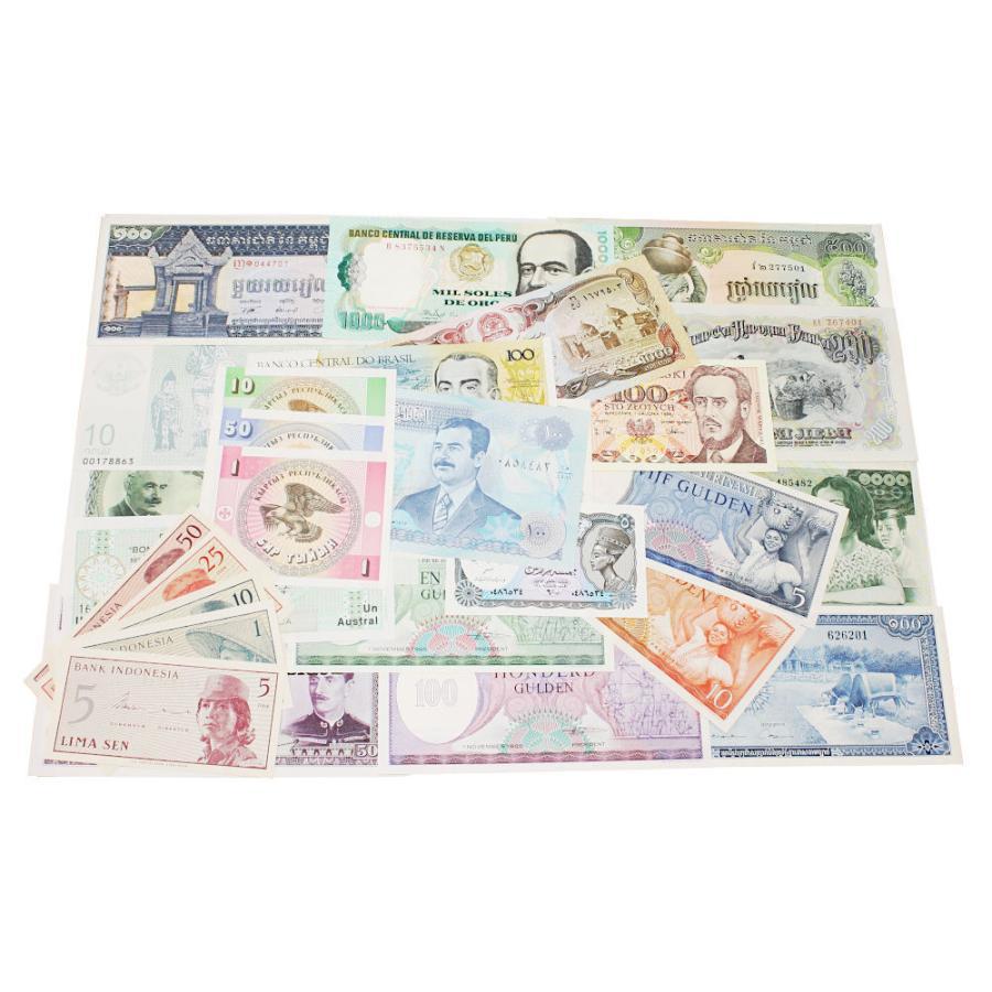 【未使用】世界の紙幣300種|stamp-coin-ebisu