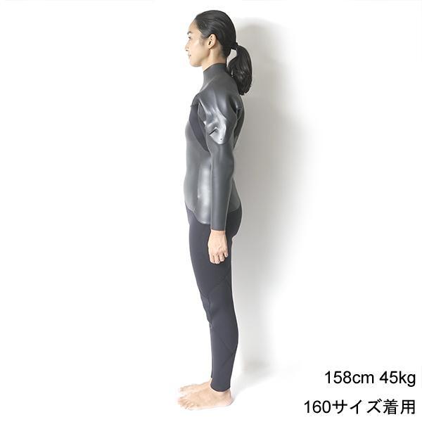 3mm ウエットスーツ フルスーツ ラバー チェストジップ CRAFTSMAN WETSUITS MEN'S LADYS UNISEX FULL SUITS 3mm サーフィン ウェットスーツ 日本製|standardstore|11