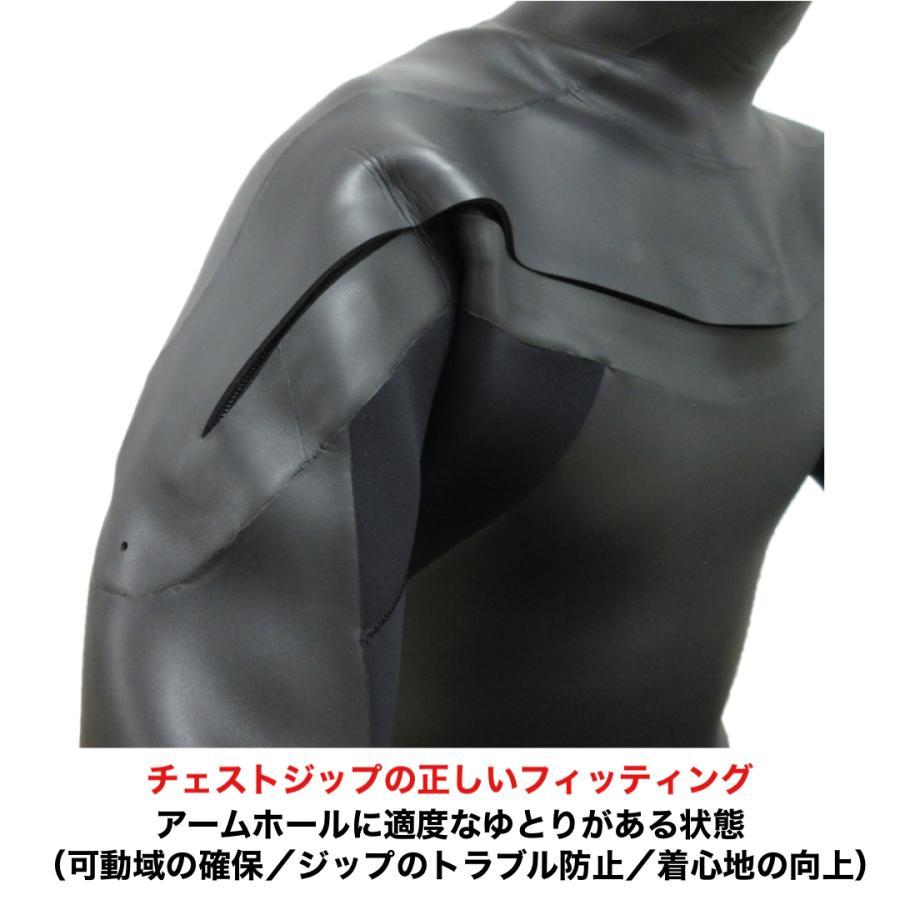 3mm ウエットスーツ フルスーツ ラバー チェストジップ CRAFTSMAN WETSUITS MEN'S LADYS UNISEX FULL SUITS 3mm サーフィン ウェットスーツ 日本製|standardstore|13