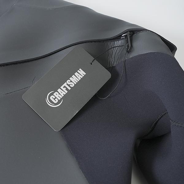 3mm ウエットスーツ フルスーツ ラバー チェストジップ CRAFTSMAN WETSUITS MEN'S LADYS UNISEX FULL SUITS 3mm サーフィン ウェットスーツ 日本製|standardstore|04
