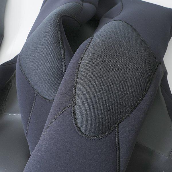 【CRAFTSMAN WETSUITS】 クラフトマンウェットスーツ SEMIDRY 5mm / 3mm セミドライ ウェットスーツ 真冬用 CHESTZIP ラバー 裏起毛 ダブルネック|standardstore|03