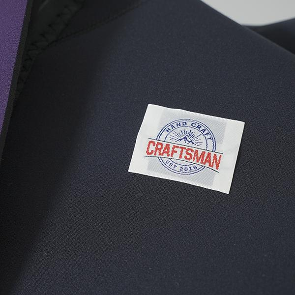 3mm ウエットスーツ フルスーツ ラバー バックジップ CRAFTSMAN WETSUITS MEN'S FULL SUITS 3mm サーフィン ウェットスーツ 日本製 standardstore 05