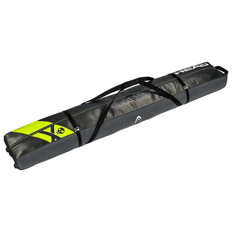 18-19 HEAD ヘッド SKI レベルス ダブルスキーバッグ REBELS SKI BAG 383028 スキー板 旅行/