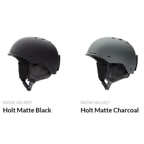 18-19 SMITH スミス Holt ホルト デザインチェンジ タフヘルメット 高耐久設計 スキー スノーボード/