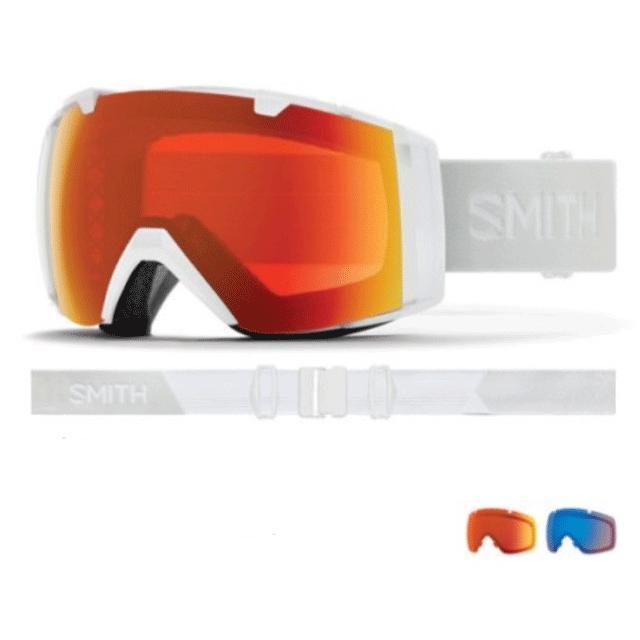 19-20 SMITH スミス IO I/O アイオー ゴーグル アジアンフィット レンズ:CP Everyday 赤 Mirror & CP Storm Rose Flash スキー スノーボード*