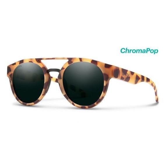 19年モデル SMITH スミス サングラス Range Matte Honey Tortoise レンジ クロマポップ偏光レンズ ChromaPop Polarized 黒/