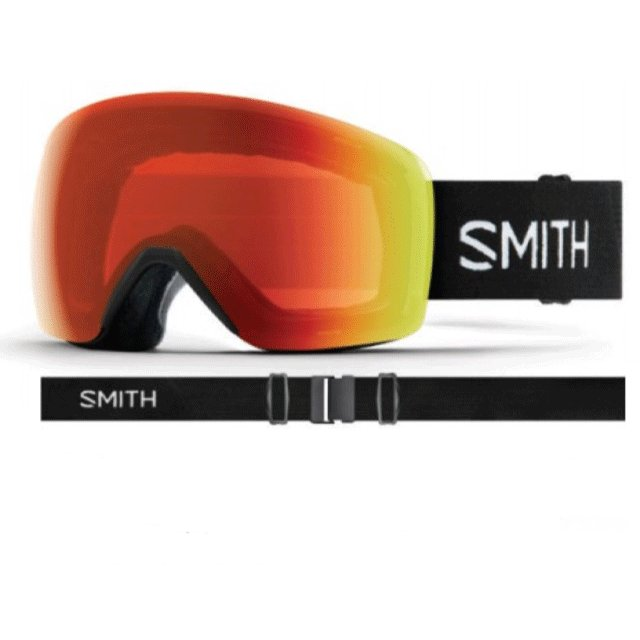 19-20 SMITH スミス Skyline スカイライン ゴーグル 調光 レンズ: Photochromic Rose Flash 球面 リムレスデザイン スキー スノーボード アジアンフィット*