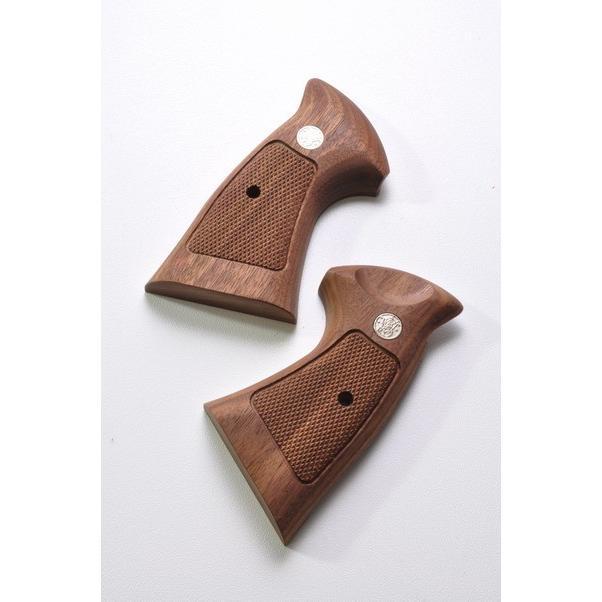 キャロムショット 木製ブリップ タナカM29用 S&W Nフレームウォールナットオーバースクエア ネコポス送料無料 (代引き不可、他商品との同梱不可)