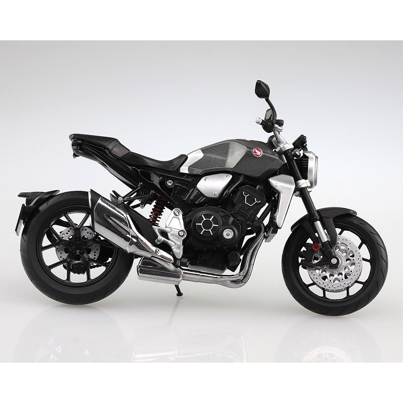 SKYNET 1/12 完成品バイク Honda CB1000R ソードシルバーメタリック star-gate 02