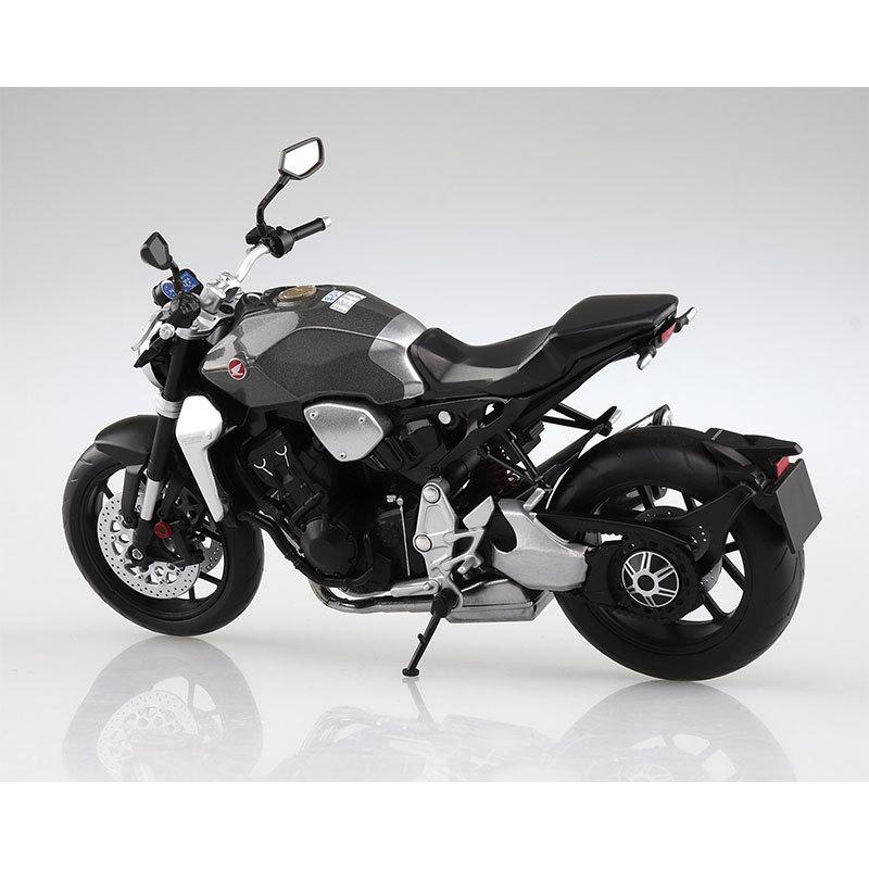 SKYNET 1/12 完成品バイク Honda CB1000R ソードシルバーメタリック star-gate 03
