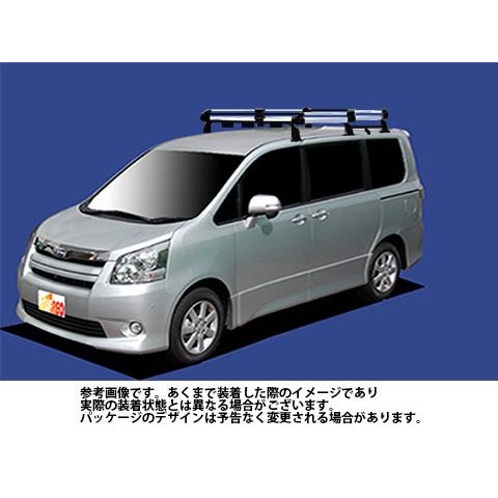 トヨタ ノア 型式 ZRR70W ZRR75W ZRR70G ZRR75G 用 タフレック ルーフキャリア Hシリーズ HF431E