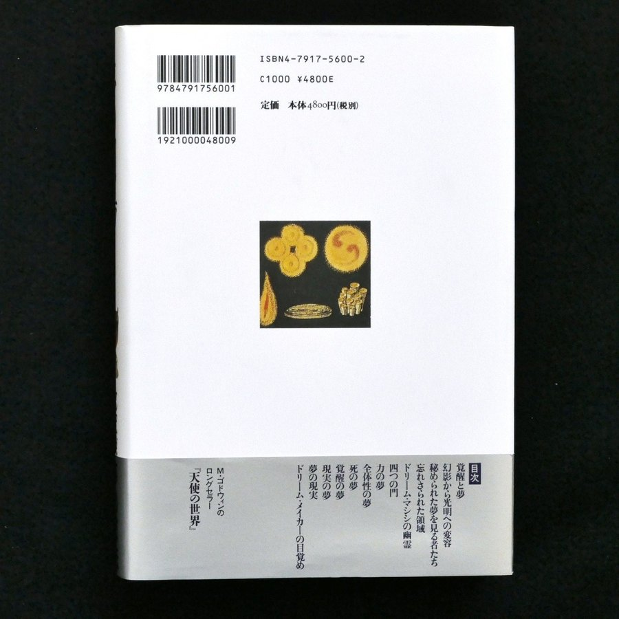 夢の劇場 明晰夢の世界 マルコム・ゴドウィン 帯付 中古・状態A star-s 02