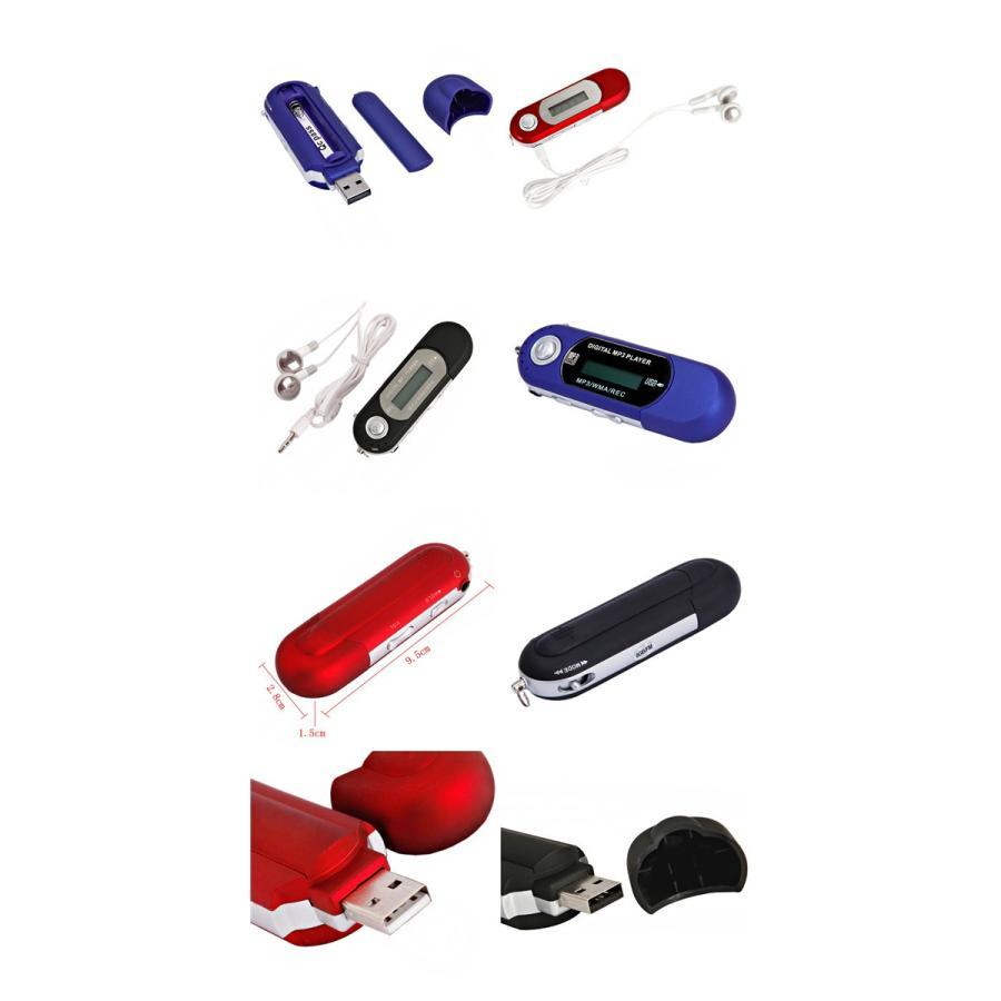 レコーダー機能付き MP3プレーヤー 8GB内蔵 USB2.0 USB搭載でパソコンから直接音楽を取り込める!! 3色選べる|star-stores|02