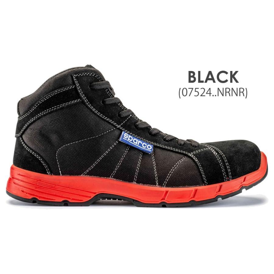 スパルコ 安全靴 CHALLENGE-H S3 セーフティーシューズ Sparco star5 06