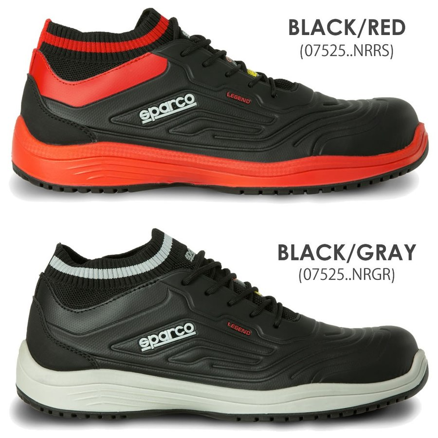 スパルコ 安全靴 LEGEND S3-ESD セーフティーシューズ Sparco|star5|02