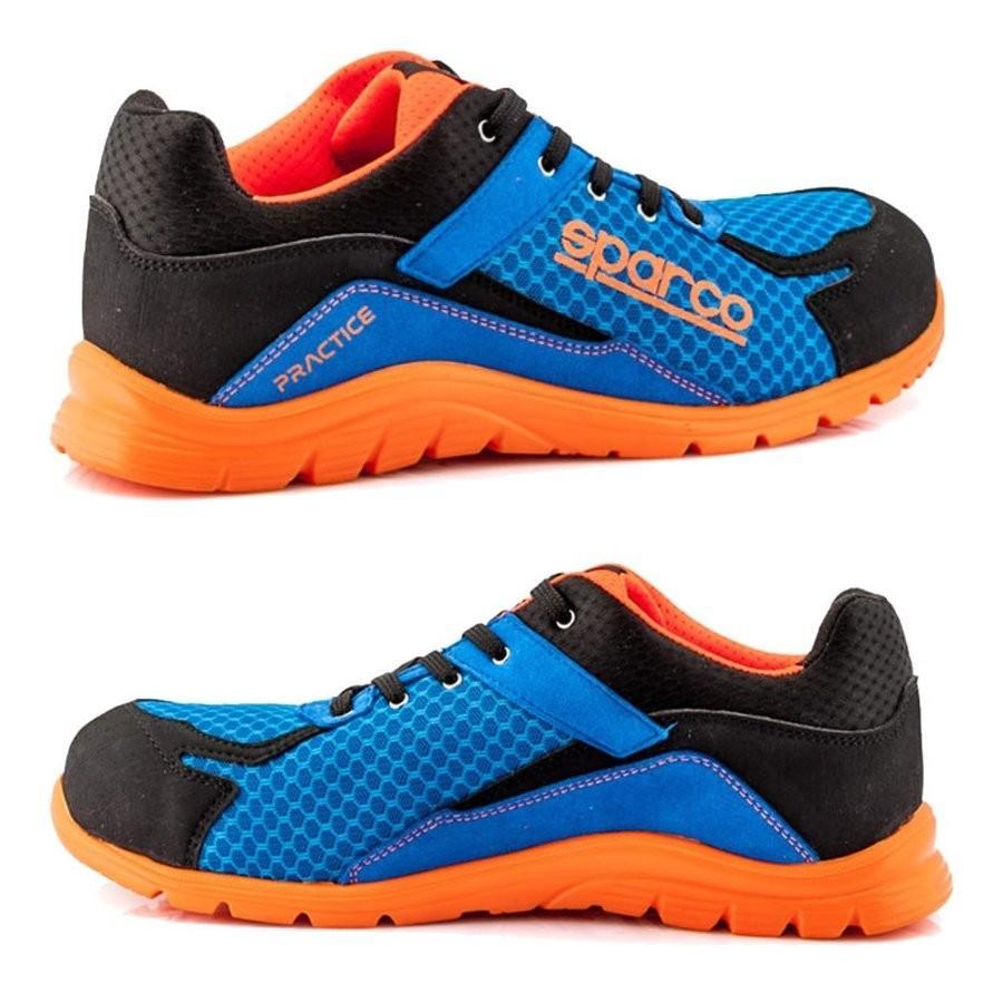 スパルコ 安全靴 PRACTICE S1P セーフティーシューズ Sparco star5 02