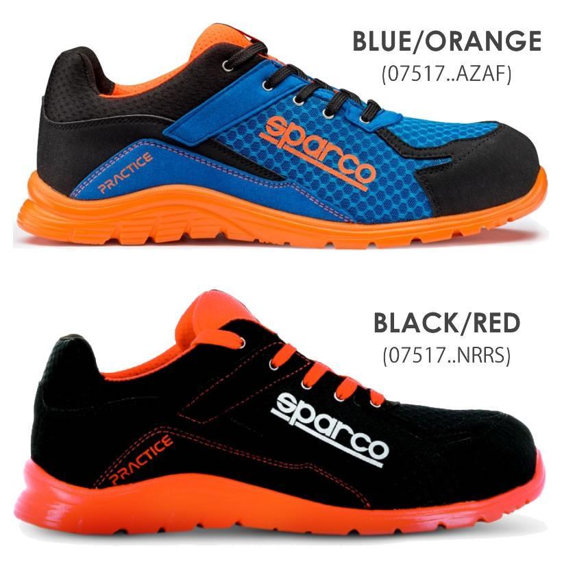 スパルコ 安全靴 PRACTICE S1P セーフティーシューズ Sparco star5 07