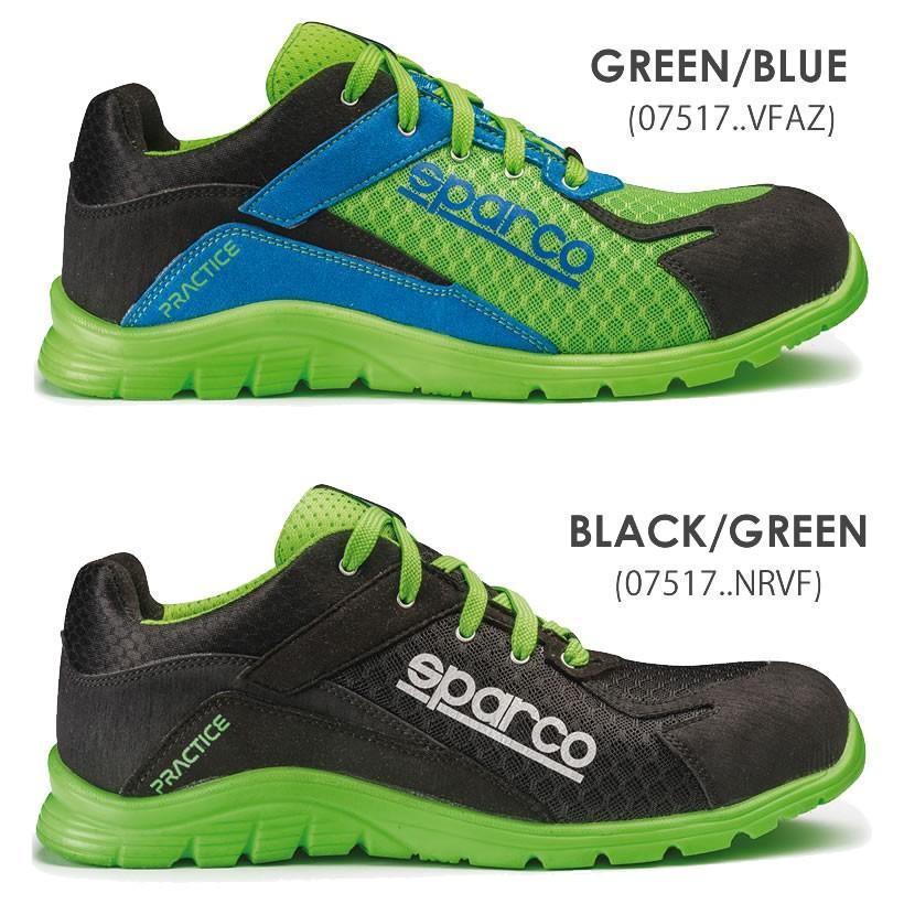 スパルコ 安全靴 PRACTICE S1P セーフティーシューズ Sparco star5 08