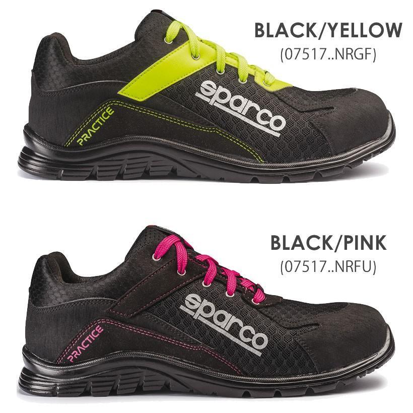 スパルコ 安全靴 PRACTICE S1P セーフティーシューズ Sparco star5 09