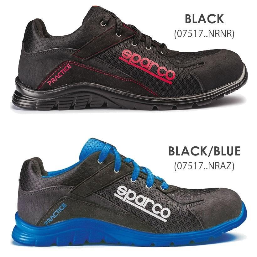 スパルコ 安全靴 PRACTICE S1P セーフティーシューズ Sparco star5 10