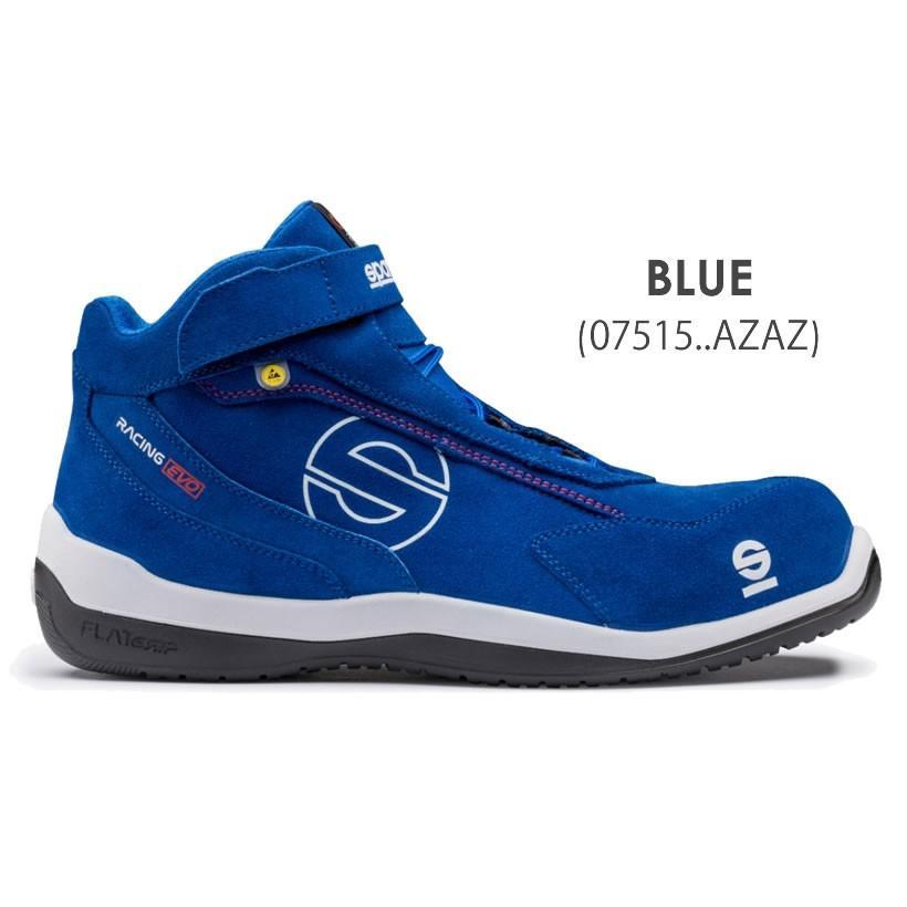 スパルコ 安全靴 RACING EVO S3-ESD セーフティーシューズ Sparco|star5|03