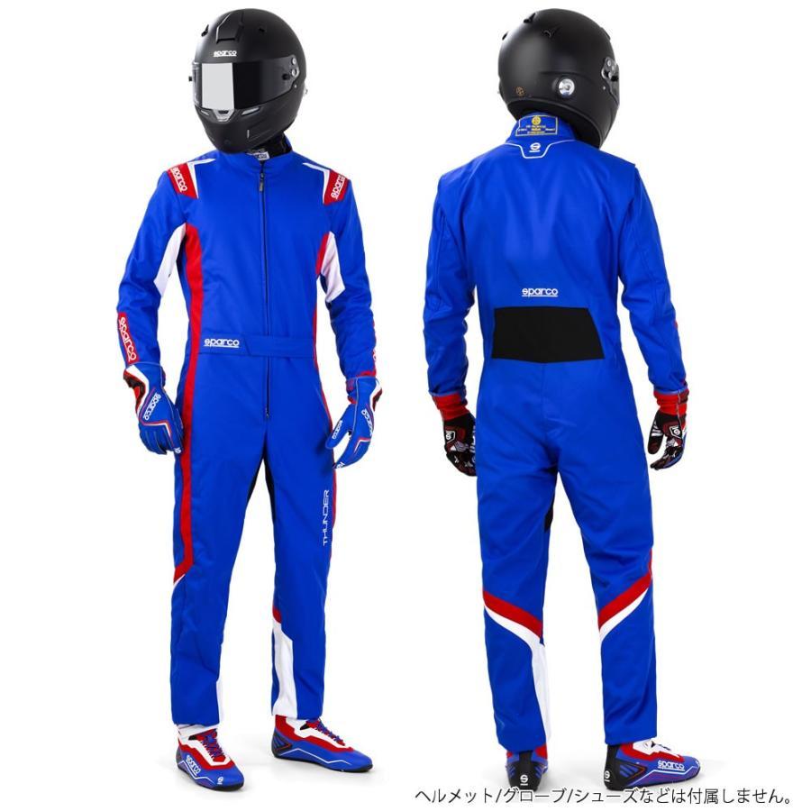 スパルコ レーシングスーツ カート用 THUNDER サンダー Sparco|star5|05