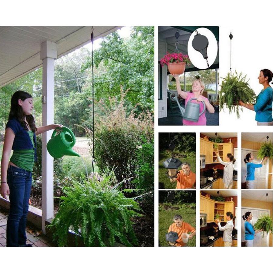 吊り下げ ハンガー 吊り下げフック 伸縮 プランター 吊りスタンド屋外 屋内 植物  観葉植物 送料無料 staraba 06