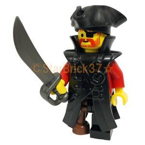 レゴ LEGO カスタムパーツ ばら売り パイレーツコート(互換品):ブラック|starbrick37-lego|05