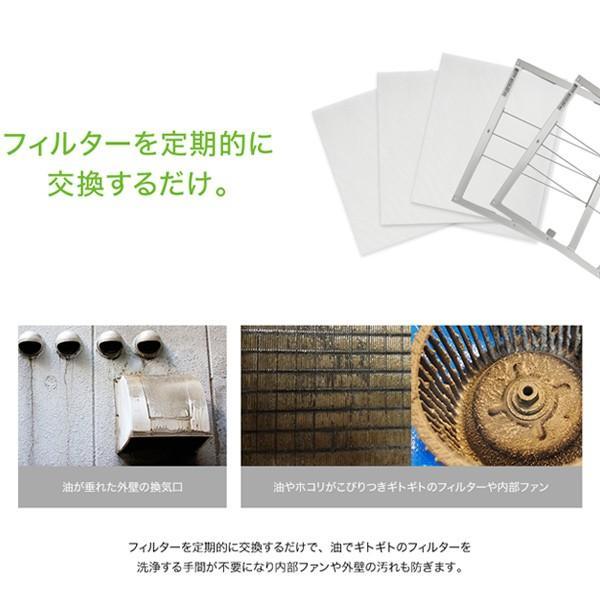 スターフィルター レンジフードフィルター 交換用 6枚 [292x265mmサイズ] 不燃性のガラス繊維タイプ 通気性が良く長持ち 除去率86.1%インスタで話題|starfilter|05