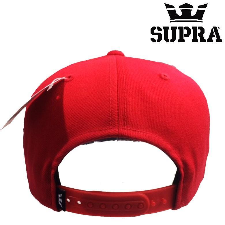 SUPRA スープラ supra ABOVE SNAPBACK FORMULA ONE-WHITE レッド red 赤 ... 44831bc0af8
