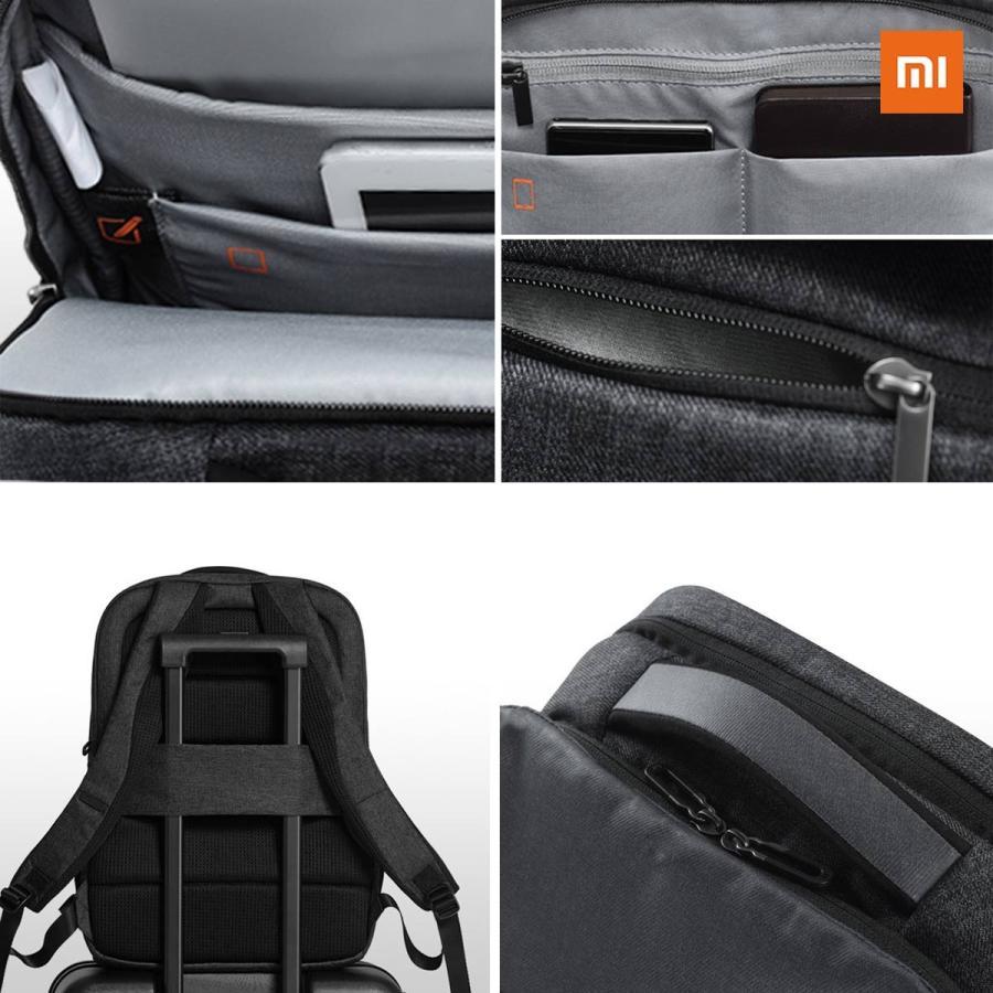 Xiaomi Mi Urban Backpack (ダークグレー) |  小米 シャオミ ビジネス 旅行 リュックサック  26L大容量 15.6インチ ラップトップ ノートブック用 正規品|starq-online|06