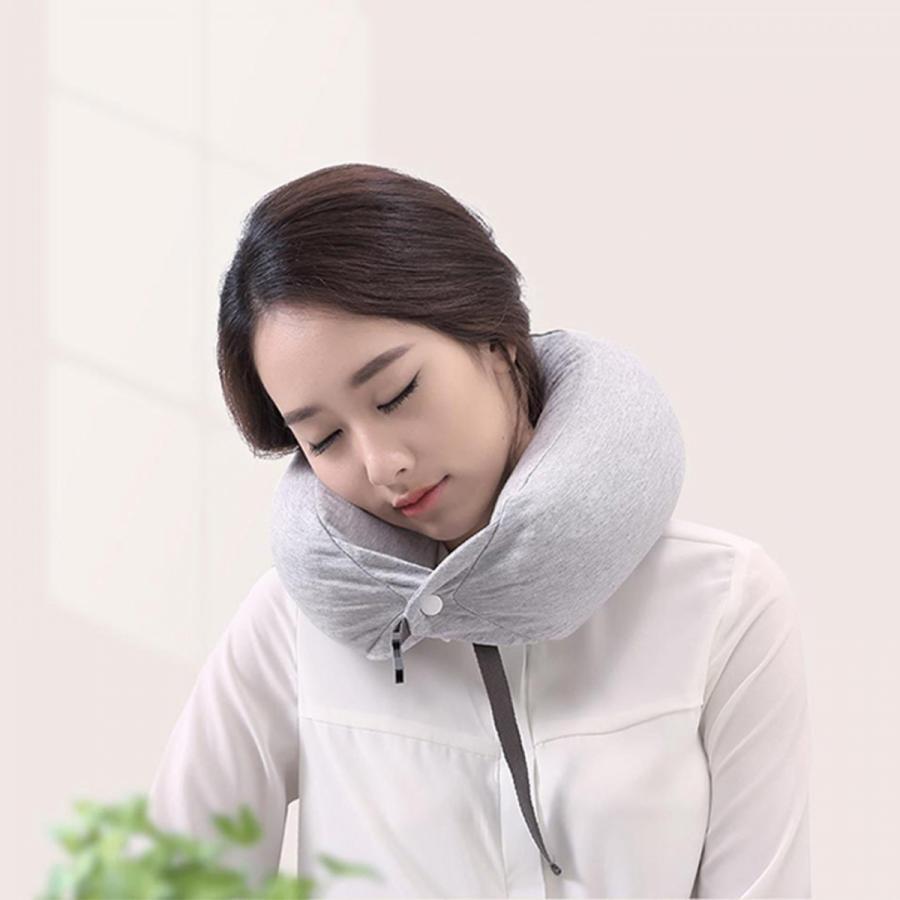 Xiaomi ネックピロー 8H Travel U-Shaped Pillow 父の日 ギフト プレゼント クッション まくら 枕 多機能 旅行 小米 シャオミ 正規品|starq-online|04