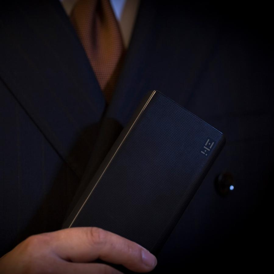 【日本正規代理店】 ZMI QB810 モバイルバッテリー 10000mAh 大容量 薄型 急速充電 薄型 PSE認証済 残量表示 スマホ充電器 携帯充電器 USB-Cポート付 18ヶ月保証 starq-online 13