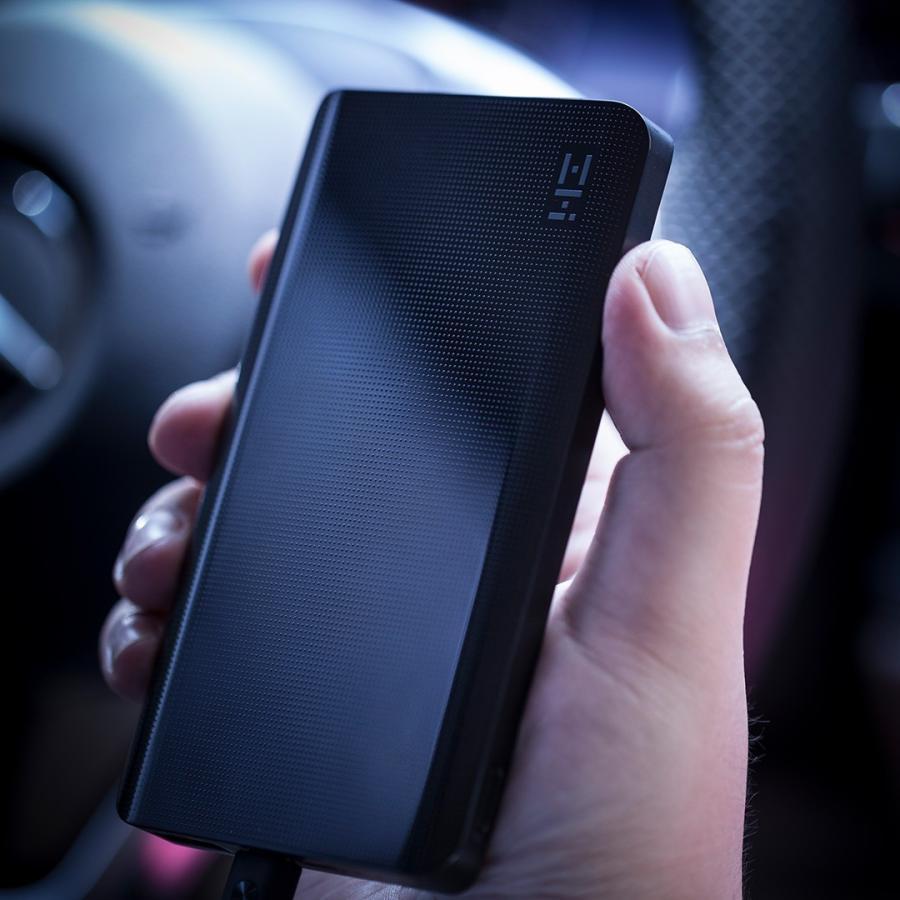 【日本正規代理店】 ZMI QB810 モバイルバッテリー 10000mAh 大容量 薄型 急速充電 薄型 PSE認証済 残量表示 スマホ充電器 携帯充電器 USB-Cポート付 18ヶ月保証 starq-online 17