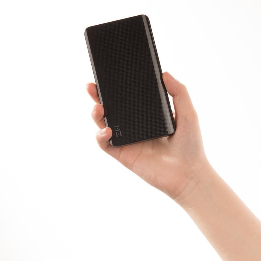 【日本正規代理店】 ZMI QB810 モバイルバッテリー 10000mAh 大容量 薄型 急速充電 薄型 PSE認証済 残量表示 スマホ充電器 携帯充電器 USB-Cポート付 18ヶ月保証 starq-online 19