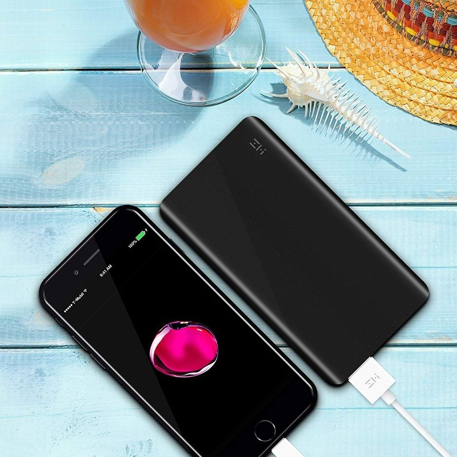 【日本正規代理店】 ZMI QB810 モバイルバッテリー 10000mAh 大容量 薄型 急速充電 薄型 PSE認証済 残量表示 スマホ充電器 携帯充電器 USB-Cポート付 18ヶ月保証 starq-online 04