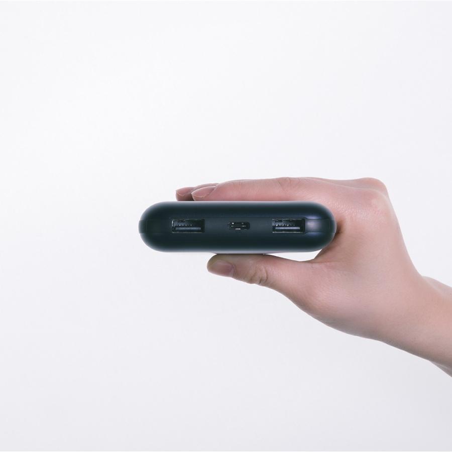 【日本正規代理店】 ZMI QB820 モバイルバッテリー 大容量 20000mAh 急速充電 3ポート同時出力 USBハブ ケーブル同梱 スマホ 充電器 PSE認証済 18ヶ月保証 starq-online 12