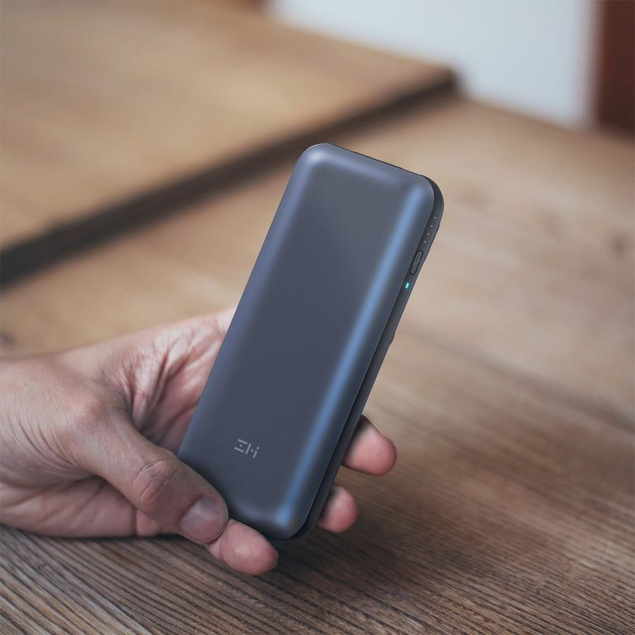 【日本正規代理店】 ZMI QB820 モバイルバッテリー 大容量 20000mAh 急速充電 3ポート同時出力 USBハブ ケーブル同梱 スマホ 充電器 PSE認証済 18ヶ月保証 starq-online 07