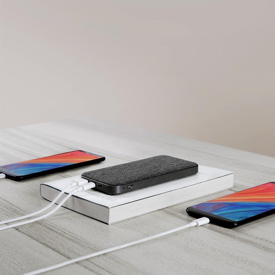 【日本正規代理店】 ZMI QB910 10000mAh モバイルバッテリー  大容量 薄型 急速充電 PSE認証済 残量表示 USBハブ機能 スマホ充電器 携帯充電器 18ヶ月保証 starq-online 03
