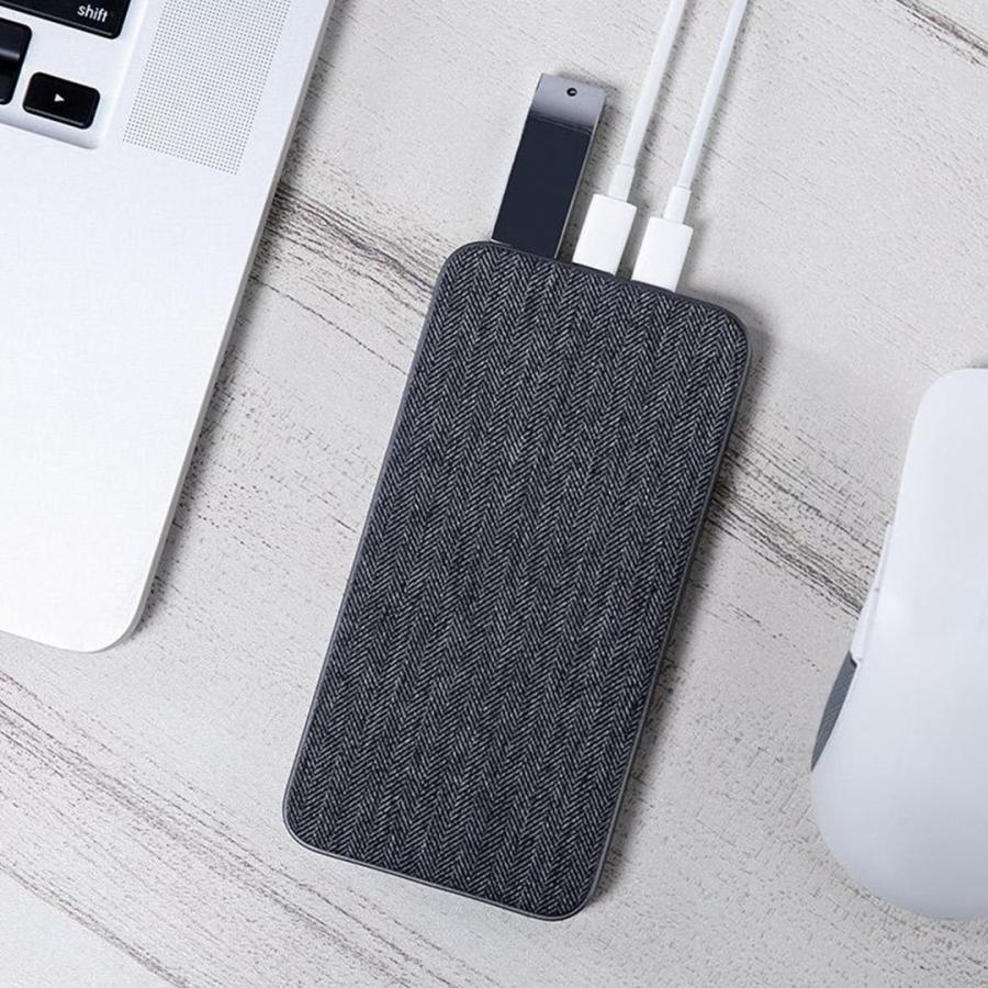【日本正規代理店】 ZMI QB910 10000mAh モバイルバッテリー  大容量 薄型 急速充電 PSE認証済 残量表示 USBハブ機能 スマホ充電器 携帯充電器 18ヶ月保証 starq-online 06