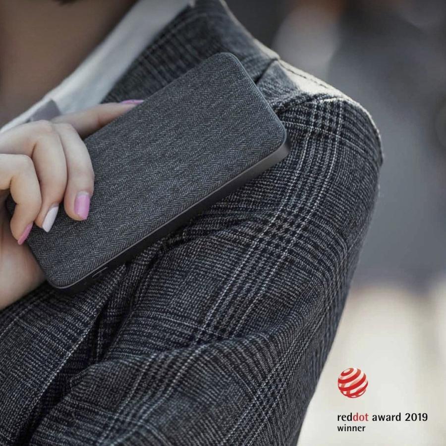 【日本正規代理店】 ZMI QB910 10000mAh モバイルバッテリー  大容量 薄型 急速充電 PSE認証済 残量表示 USBハブ機能 スマホ充電器 携帯充電器 18ヶ月保証 starq-online 10