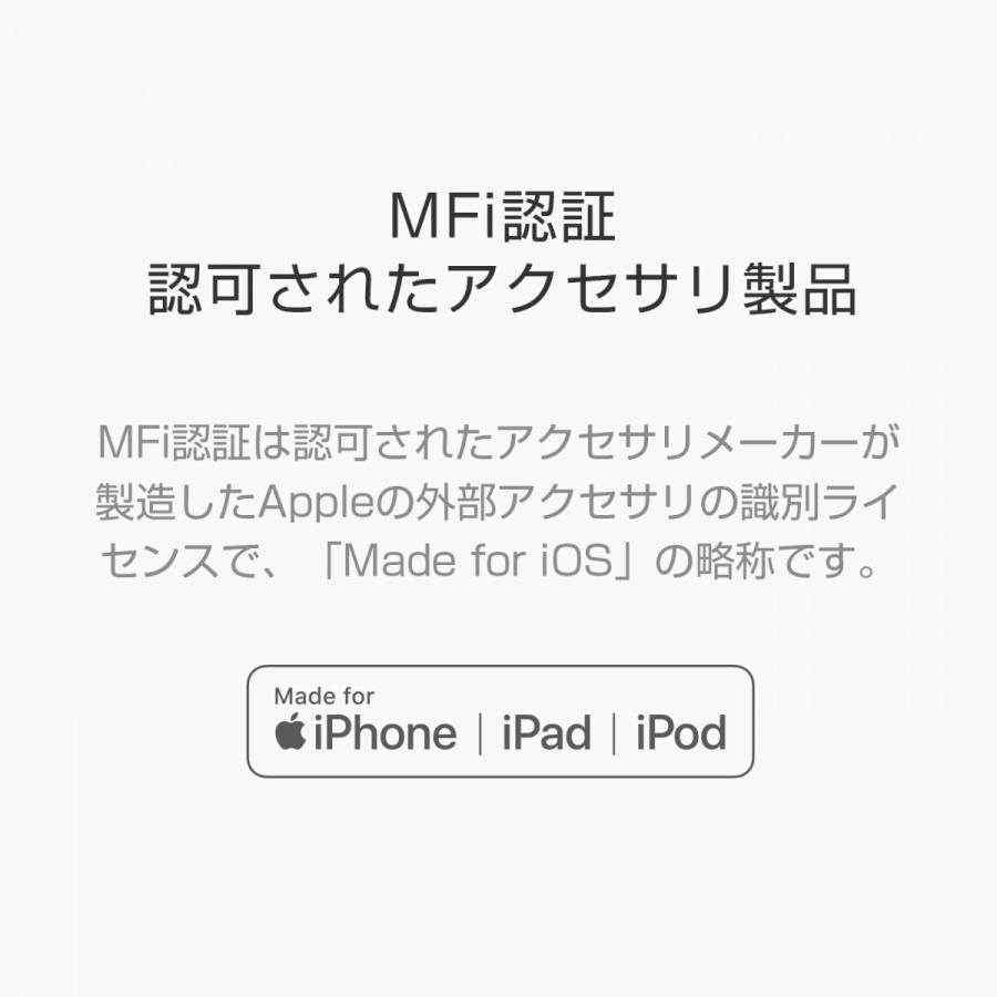 ZMI lightning USB ケーブル Apple MFi認証 1m 最新iOS 急速 充電 データ転送 ライトニング 正規品|starq-online|03