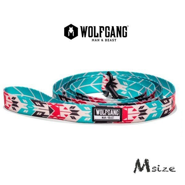 犬 リード  M  size 全長:122cm ウルフギャング WOLFGANG  FurTrader LEASH / アメリカンメイド|starry