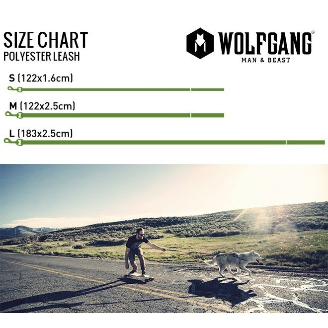犬 リード  M  size 全長:122cm ウルフギャング WOLFGANG  FurTrader LEASH / アメリカンメイド|starry|05