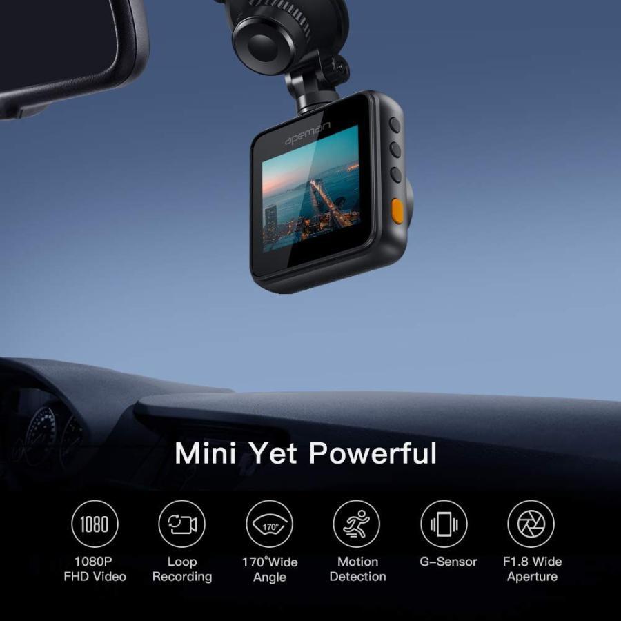 APEMAN C420 ドライブレコーダー 車載カメラ Gセンサー WDR機能搭載 高画質 1080PフルHD 170度広角 常時録画 駐車監視 上書き録画 動き検知 衝撃録画 starvillage 02