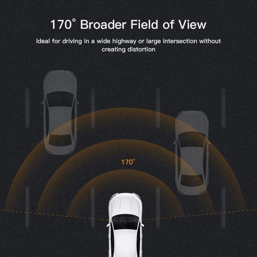 APEMAN C420 ドライブレコーダー 車載カメラ Gセンサー WDR機能搭載 高画質 1080PフルHD 170度広角 常時録画 駐車監視 上書き録画 動き検知 衝撃録画 starvillage 08