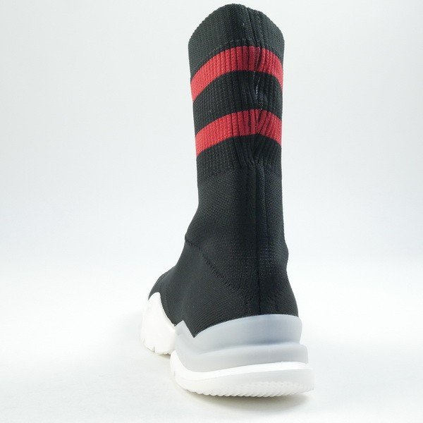 reebok sock pump stretch-knit sneakers